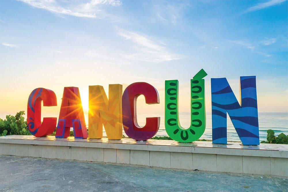 Cancun Mexico Sign